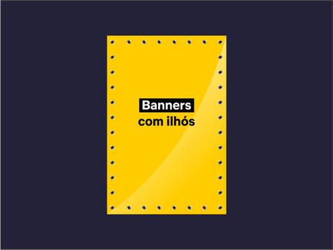 Clique e faça o seu pedido de Banner com ilhós.