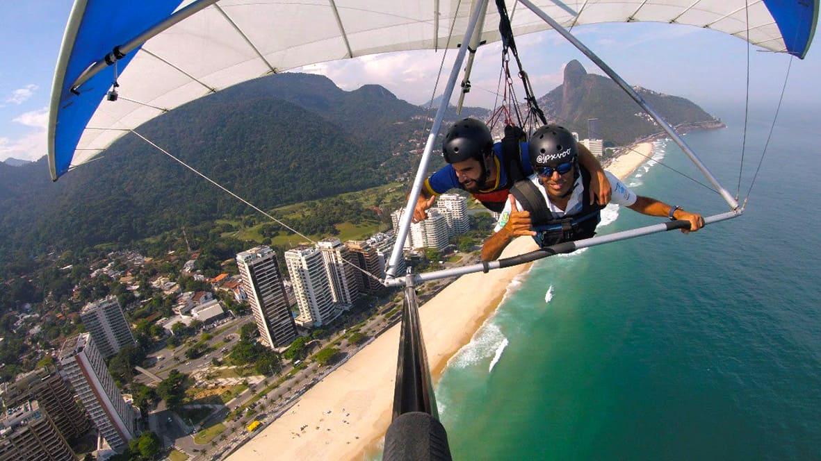 3 - Voo de Asa Delta Rio de Janeiro