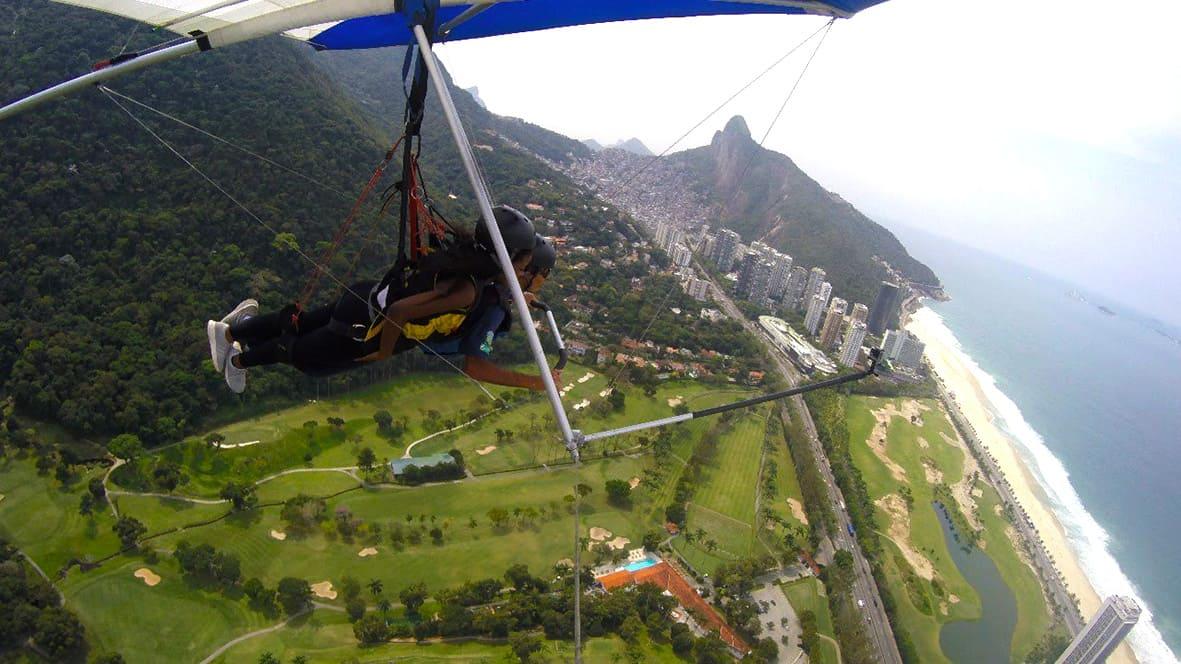 7 - Voo de Asa Delta Rio de Janeiro