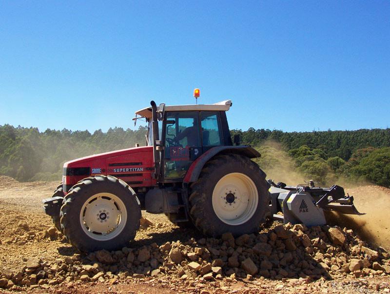 Fresapara trituração de pedras e preparo de solo