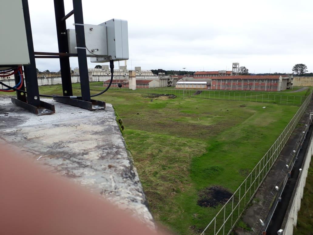 Radar instalado em presidio