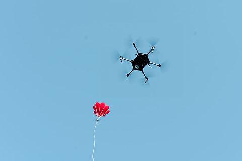 Segurança perimetral com Drones