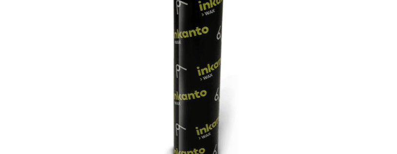 Excelente preço da unidade Ribbon Cera 110mm x 74m