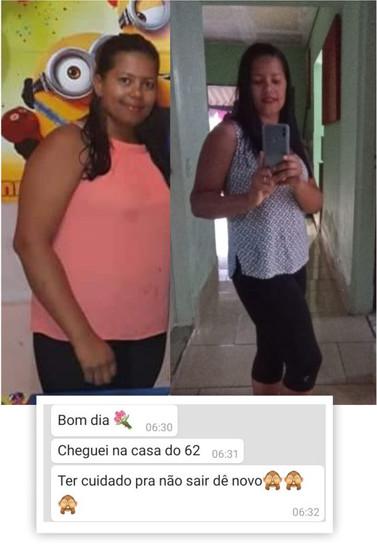 Daiane, 28 anos, menos 10 Kg