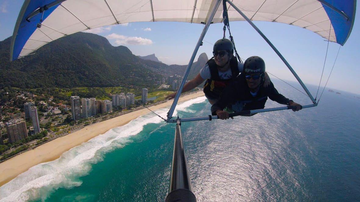 2 - Voo de Asa Delta Rio de Janeiro