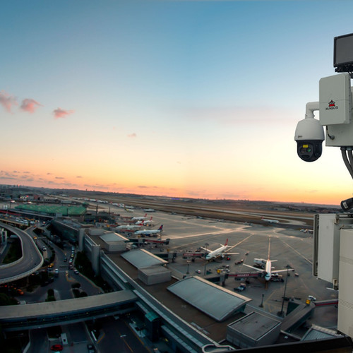Radares Magos instalados em aeroporto