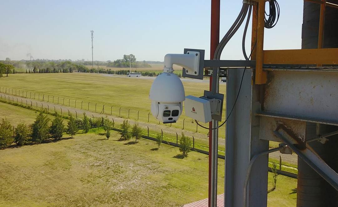 SR500 instalado em porto