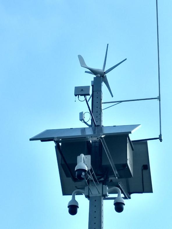 Radares alimentados com energia solar e transmitem via radio