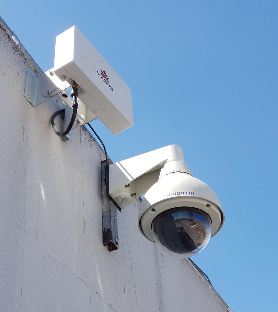 Radar instalado em centro logistico
