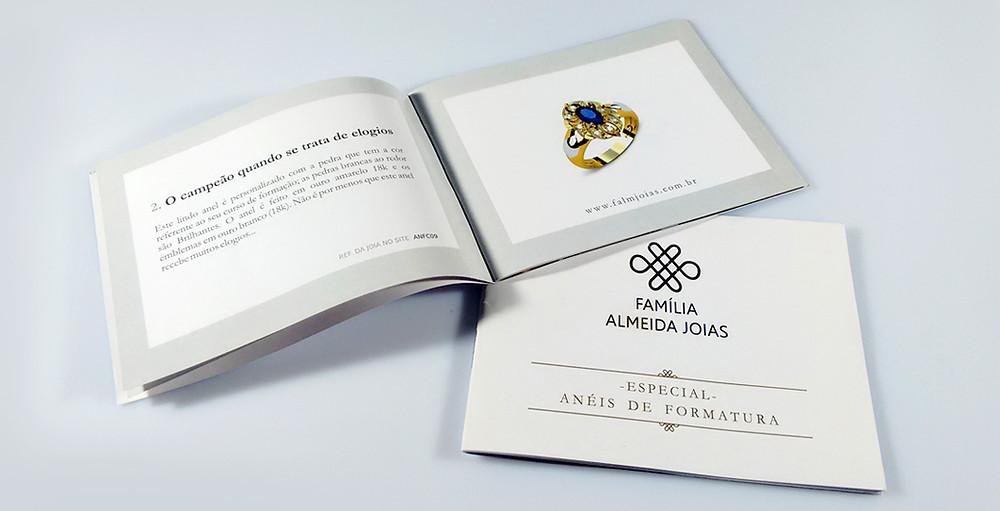 Catálogo | Projeto Gráfico | Robson Martins Design e Negócio | Marketing Digital | São Paulo