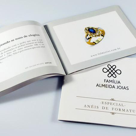 Catálogo de Anel de Formatura