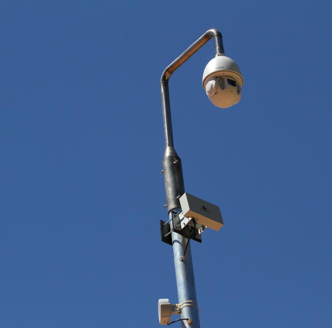 Radar e câmera integrados