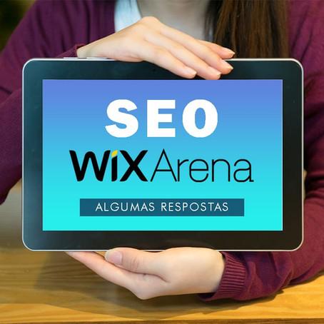 Algumas respostas sobre SEO - Wix Arena