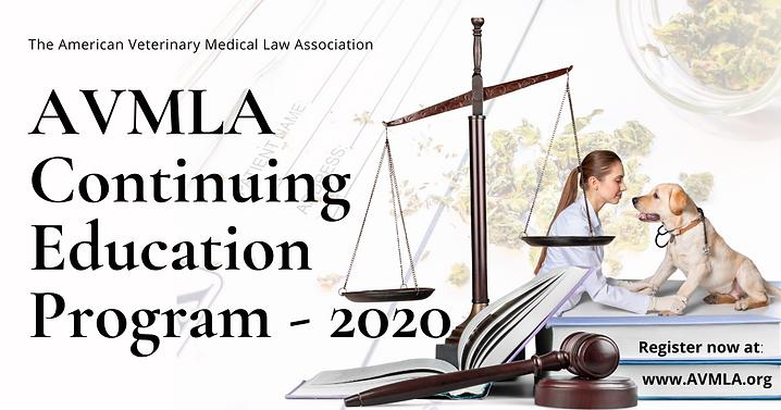 AVMLA 2020 Continuing Education Program.