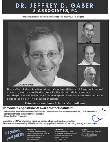 Ad for Dr. Gaber & Associates