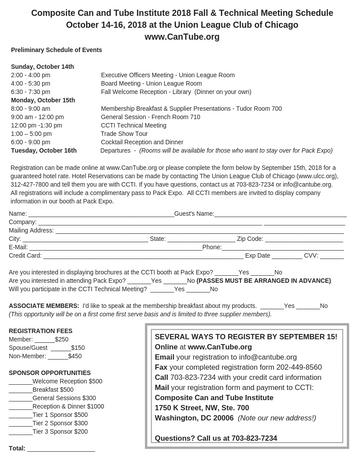 CCTI Registration