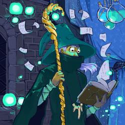 Rheut, The Wizard