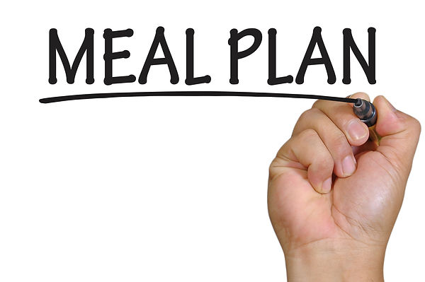 The hand writing meal plan.jpg