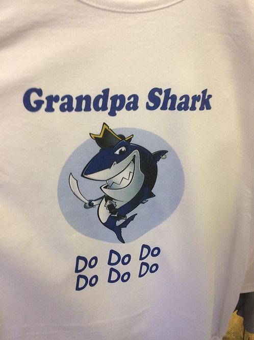 Grandpa Shark T-shirt