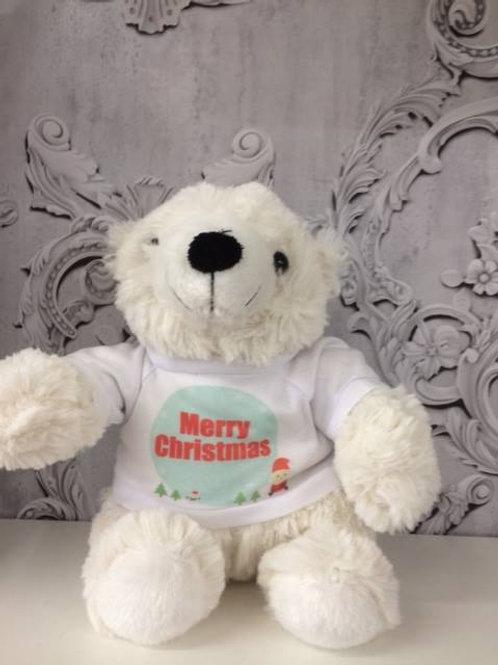 Personalised Christmas Polar Bear