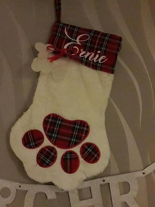 Personalised Dog Stocking