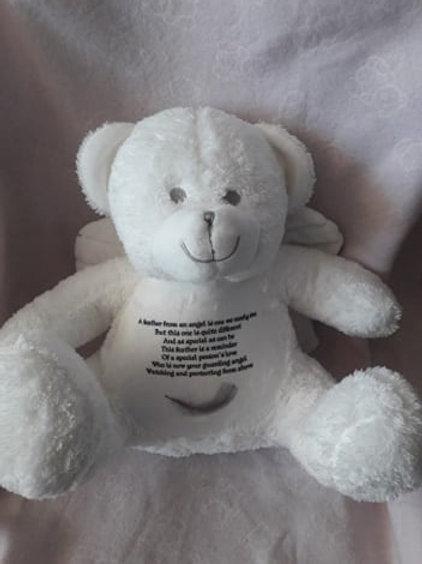Personalised Angel Bear
