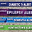 Thumbnail: Personalised Medical Alert Cuff Bracelet -Various to choose from