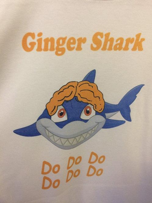 Ginger Shark Kids T-shirt