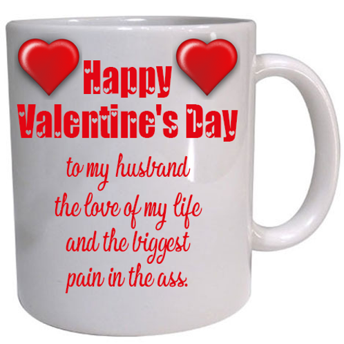 Husband Valentine Mug