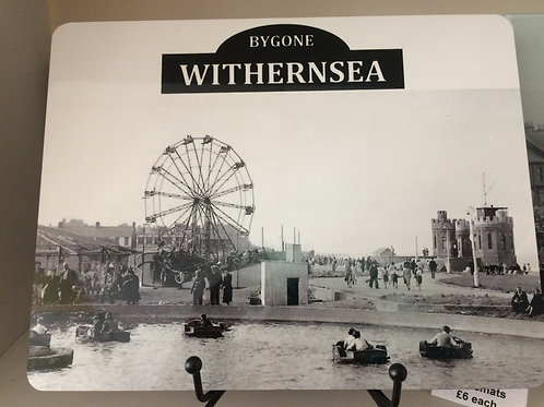 Bygone Withernsea Placemat (Boating Lake)