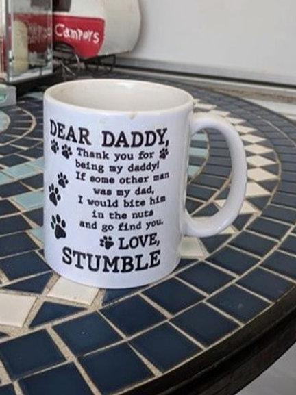 Daddy Mug from Dog(s)