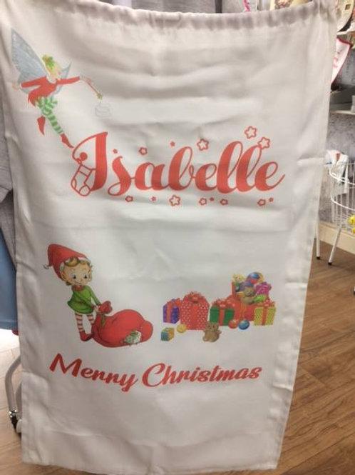Personalised Large Christmas Sacks