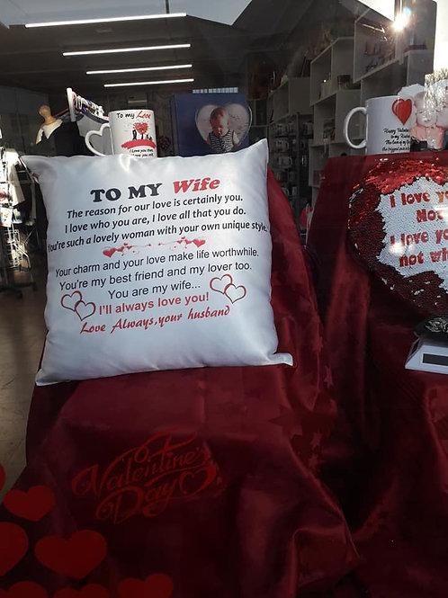 Wife Cushion
