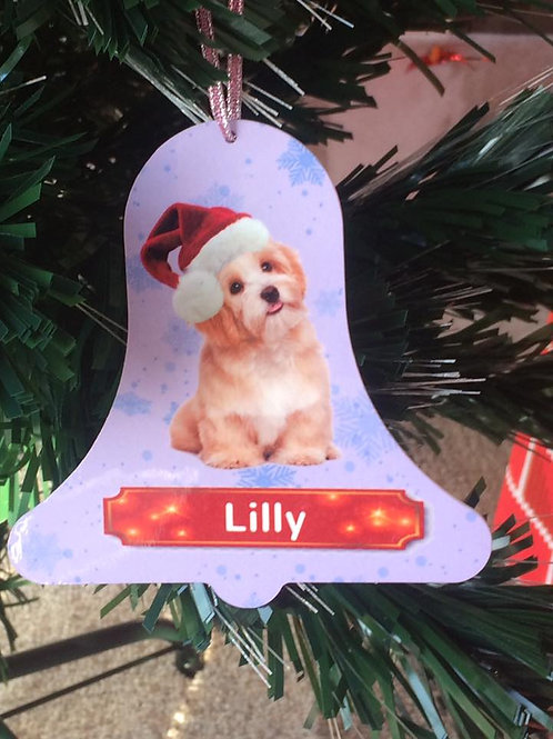 Personalised Large Bell Decoration