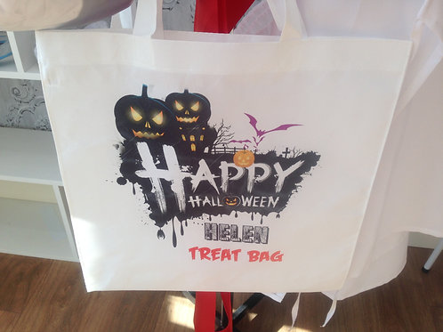 Personalised Halloween Treat Bags