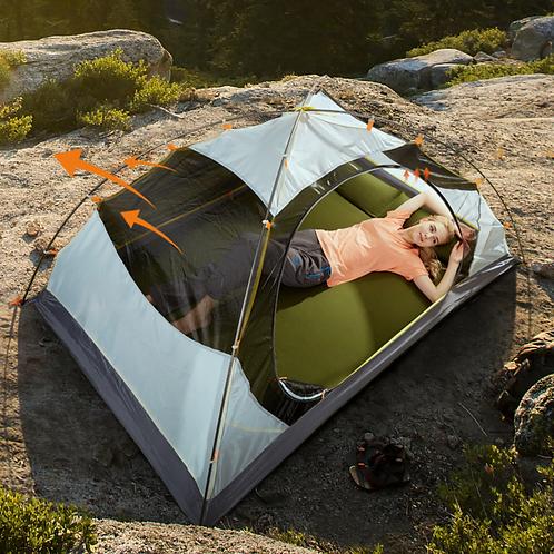 公狼雙人露營帳篷