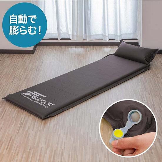日本 Fieldoor 自動充氣床墊連枕頭