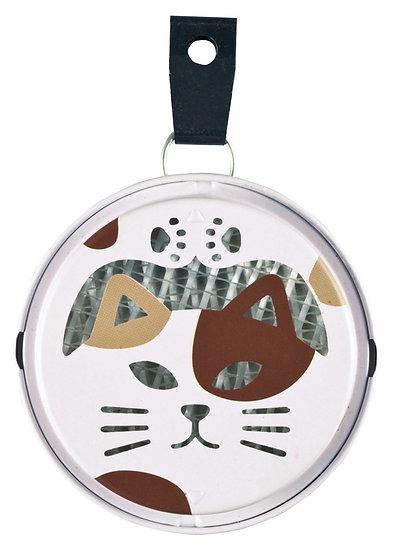 可愛貓咪便攜式迷你蚊香盒