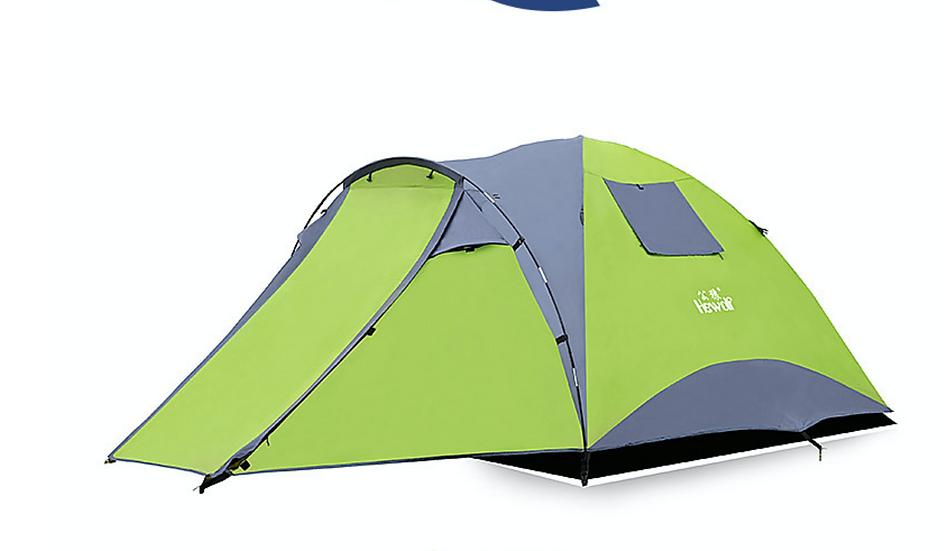 公狼四人通風設計露營帳篷