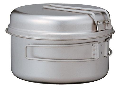 【日本代購】SnowPeak 4合1 鈦金屬炊具Cookset SCS-020T