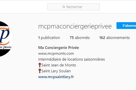 Instagram de MCP Saint Lary
