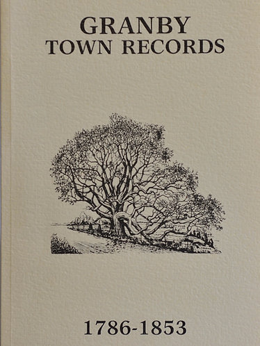 Granby Town Records  1786-1853