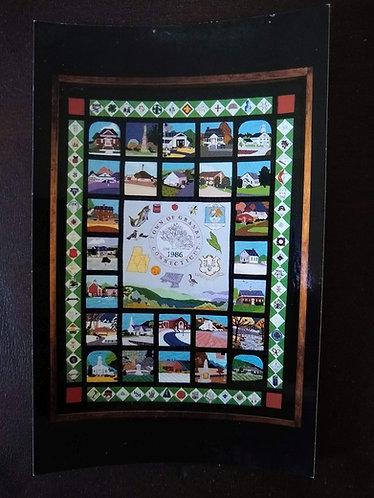 Bicentennial Quilt Postcard