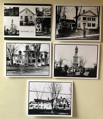 Granby Stroll Through History  Note Cards - 5-pack