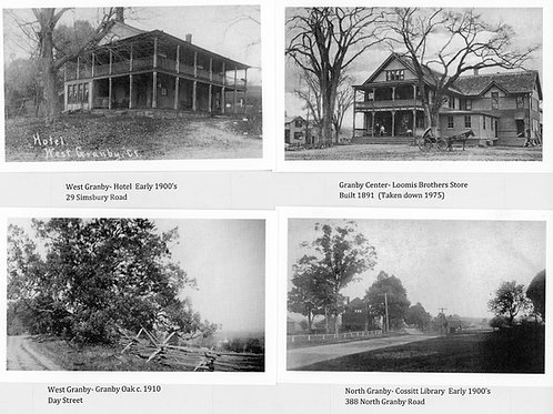 Reproductions of Four Old Granby Postcards