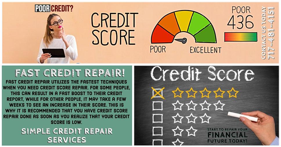 Fast Credit Repair - Simple Credit Repair Services