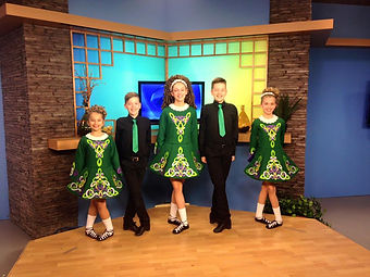 WIVB Wake Up Buffalo Irish Dancers