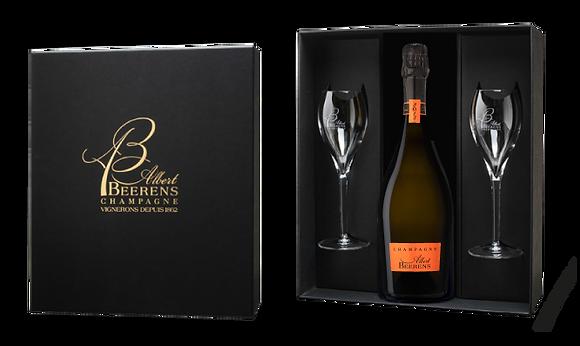 Luxury Box - Cuvée Prestige - Vintage 2013 - 2 Flutes