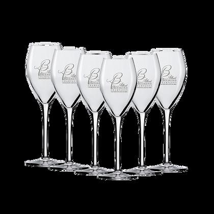 6 Flûtes - 16 cl - Champagne Albert Beerens