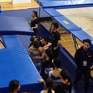 Competitive Team 2016 (Trampoline)